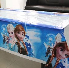 NEW Girls Frozen Birthday Party Plastic Tablecloth - 108cms x 180cms