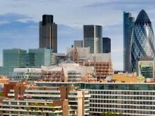 The City of London From City Hall, London, England, United Kingdom, Europe