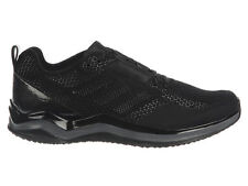 NEW MENS ADIDAS SPEED TRAINER 3.0 RUNNING SHOES TRAINERS BLACK / BLACK / IRON ME