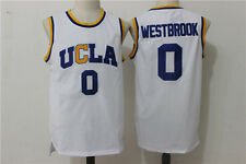 Russell Westbrook UCLA #0 Throwback Jersey White Sizes S - 2XL All Stitched