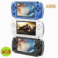 LCD 8GB 4.3'' 32bit Li-On Portable Handheld Video Game Console Player MP4 Toys W