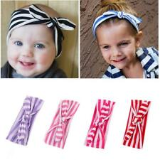 Baby Girls Headband Soft Cotton Bow Elastic Band Hairband Kids Hair Accessories