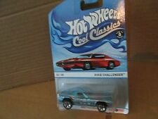 DIXIE Challenger dodge blue SPECTRAFROST 23/30   2013 Hot Wheels Cool Classics