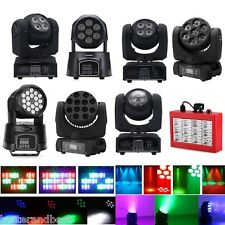 RGBW LED Wash Stage Moving Head Light DMX512 DJ Bar Party Beam Spot Lighting US
