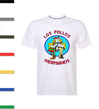 Los Pollos Hermanos Inspired Breaking Mens T-Shirt Bad Heisenberg Walter Meth