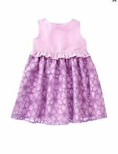 NWT Gymboree EGG HUNT Purple Organza Dress Easter Toddler Girls 12 18 24 2T 4T 5