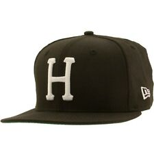 $36 HUF Classic H New Era Fitted Cap (black)