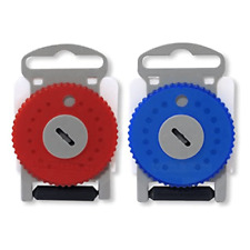 HF4 Wax Guard. HF4 PRO. Siemens/Resound Red/Blue (Dial of 15 wax traps)