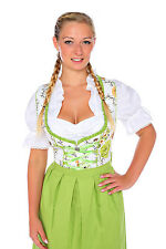 1180 - 3 pc Dirndl Dress Trachten Oktoberfest 4,6,8,10,12,14,16,18,20,22