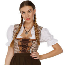 1314 - 3 pc Dirndl Dress Trachten Oktoberfest 4,6,8,10,12,14,16,18,20,22