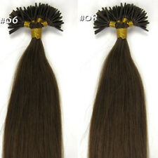 16''-22'' lengths Asian Stick-tipped Remy Real Human Hair Extension Beauty AU