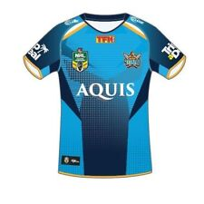 Gold Coast Titans 2017 NRL Kids Home Jersey Shirt BNWT Rugby League Clothing