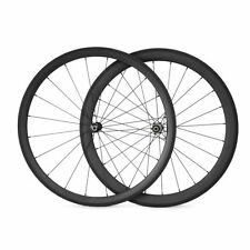 Straight Pull 38+50mm Tubular Carbon Wheels Carbon Road Bike Bicycle Wheelset