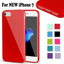 Soft Case Shockproof Silicone Rubber Gel Jelly Cover New For Apple iPhone 7 4.7
