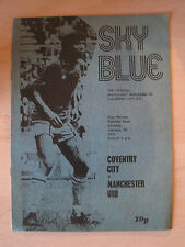 Coventry City Programmes