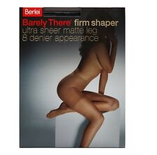 WOMENS 5 PACK BERLEI BARELY THERE FIRM SHAPER Stockings Shapewear Sheer Hosiery