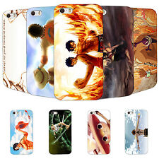 Funny Painted Anime One piece Printed Hard Case Cover Skins for Apple iPhone 5/6