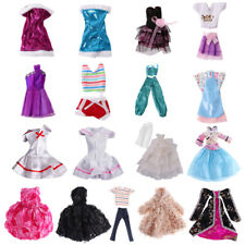 Evening Wedding Party Clothes Casual Dress Gown Outfit Suit for Barbie Dolls
