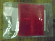 V-Twin Mfg.#33-0039,Red reflector set(2) with adhesive back,Repl H-D#59255-72.#