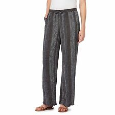 Maine New England Womens Navy Printed Wide Leg Trousers From Debenhams