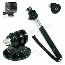 Different Colors of Monopod + Tripod Mount Holder For GoPro Hero HD Camera 3/2/1