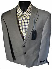 *NEW** MEN'S 2 BUTTON SPORT COAT/ SPORT JACKET / TOMMY HILFIGER / 100% WOOL GRAY