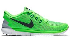 New Nike Free 5.0 Trainers Running Shoes Sneakers - Womens Ladies Girls - Green