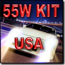 55W 9006 XENON HID CONVERSION KIT FOR Fog Light 4300K 6000K 8000K 10000K #