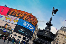 Piccadilly Circus, London West End, England photograph by Andy Evans Photos