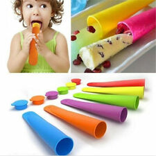 Hot Silicone Push Up Ice Cream Jelly Lolly Pop For Popsicle Maker Mould Mold DIY