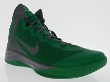 Nike Mens Zoom Hyper Enforcer PE Lucky Green Cool Grey Celtics Shoes  487655 300