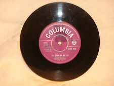 """THE STORY OF MY LIFE"" by MICHAEL HOLLIDAY on the COLUMBIA LABEL 45 rpm RECORD."