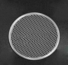 """6""""-22"""" Thick Aluminum Pizza Pan Mesh Network Disk For Crispy Evenly Baked Crust"""