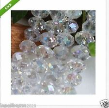 95 Pcs Hot Beautiful Swarovski Crystal Loose Gemstone Beads 4X6mm Wholesale UK