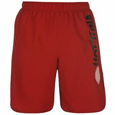 MENS HOT TUNA RED LONG SWIMMING SWIM SURF HOLIDAY SUMMER BEACH BOARD SHORTS