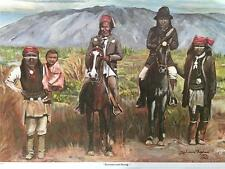 Native American Fine Art STEPHANIE NEPHEW Limited Edition Print double signed