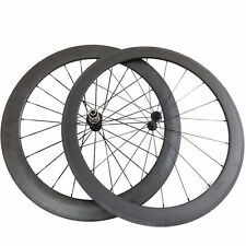 Ceramic Bearing 50+88mm Clincher Carbon Wheels Road Bicycle Road Bike Wheelset