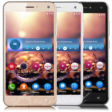 "5.0"" Quad Core Android 5.1 3G Unlocked Smart Mobile Cell Phone Dual SIM GPS WIFI"
