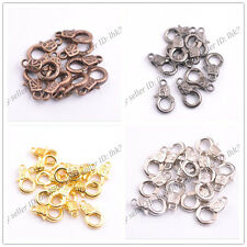 Gold Silver Plated Bronze Copper Charms Lobster Clasps 17x10MM Z3135