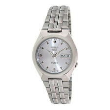 Seiko 5 Automatic Mens Analog Watch Casual Silver Band SNKL67K1