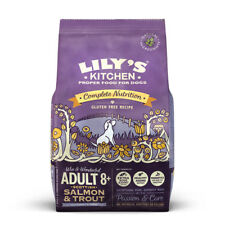 Lilys Kitchen Adult 8+ Scottish Salmon Trout Gluten Free Dry Dog Food 1/2.5/7kg