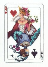 Royal Games Queen Kit Cross Stitch Chart, Fabric, Beads, Braid, MD150 Mirabilia