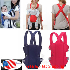 Newborn Baby Kids Sling Bag Front and Back Backpack Carrier