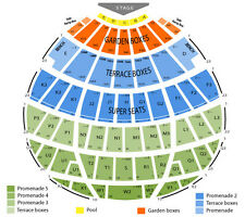Hollywood Bowl Tickets THE PLANETS WITH DUDAMEL Aug 22 tix 8/22 Row 1 FREE SHIP
