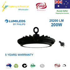 200W LED High Bay Lights 5000K LUMILEDS PHILIPS WAREHOUSE INDUSTRIAL FACTORY