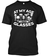Quantities Available At My Age I Need Glasses Hanes Tagless Tee T-Shirt