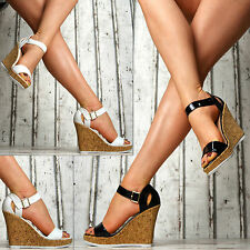 new luxury Ladies' shoes Platform Wedges Sandals High Heels Party SeXy