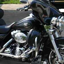 Black Pearl Lower Vented Fairings Fit Harley Street Electra Glide FLHR 83-2013