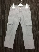 Boys Ex Chainstore Grey Cargo Trousers 12-18m BNWOT