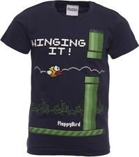 Flappy Bird Winging It T-Shirt Kids Cartoon Gaming Gamer shirt Youth Tee